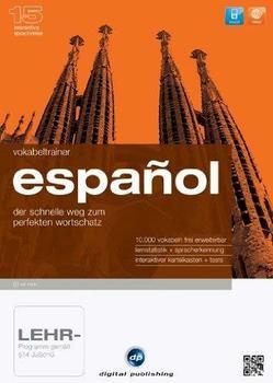 Digital Publishing Interaktive Sprachreise 15: Vokabeltrainer Espanol (Win)
