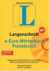 Langenscheidt e-Euro-Wörterbuch Französisch (DE) (Win)