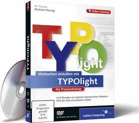 Rheinwerk Verlag Webseiten erstellen mit TYPOlight - Die Praxisschulung (DE) (Win/Mac/Linux)