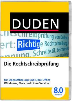 Duden Korrektor 8.0 - Die Duden-Rechtschreibprüfung für OpenOffice und LibreOffice (DE) (Win)