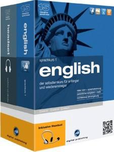 Digital Publishing Interaktive Sprachreise 15: Sprachkurs 1 + Headset Englisch (Win)