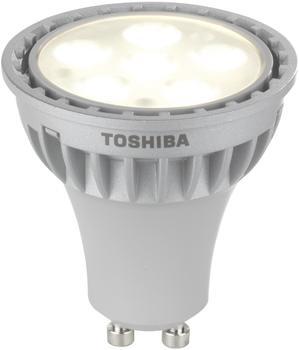 Toshiba PAR16 LDRC0527MU1EUD 5,4W 840 GU10 Reflector 462945 LED-Reflektor GU10GZ10, 5,4 Watt, Warmweiß, Energieeffizienzklasse A+, dimmbar