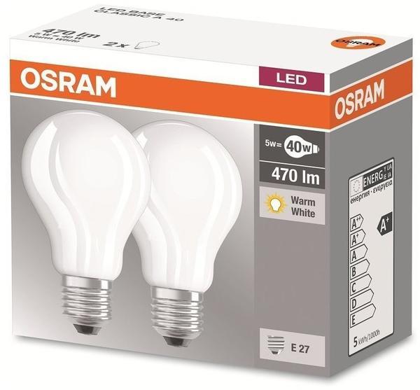 Osram LED Base Classic 5,2W E27 2er Pack (972117) Test Weitere Osram ...