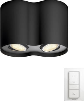 Philips Connected Luminaires Hue Pillar Spot schwarz (56332/30/P7)