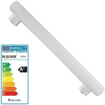 Blulaxa LED Linienlampe Linestra 5 Watt warmweiß 30cm S14S
