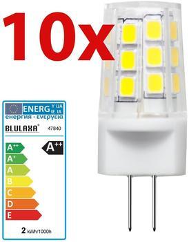 Blulaxa LED-Stiftsockellampe 2,3W G4 (47840)