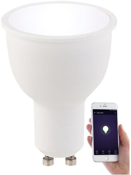Luminea WLAN-LED-Lampe GU10