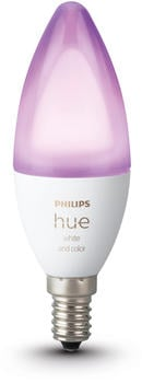 Philips Hue White and Color Ambiance Einzelpack E14 Bluetooth (72631700)