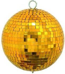Eurolite Spiegelkugel 15cm gold