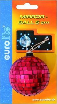 Eurolite Spiegelkugel 5cm rot