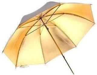 Bresser SM-21 Reflexschirm silber/gold 110cm wechselbar
