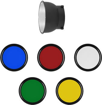 Rollei Reflektor mit Farbfolien
