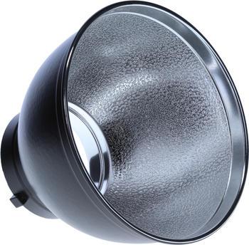 Rollei Profi Studioblitz Reflektor Aluminium 55 Grad mit Bowens-Anschluss