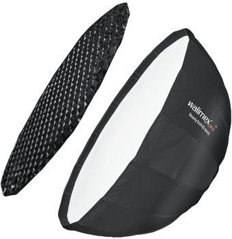 Walimex pro Studio Line Beauty Dish Softbox QA85 mit Softboxadapter Multiblitz P