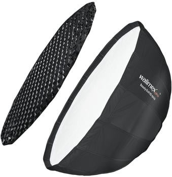Walimex pro Studio Line Beauty Dish Softbox QA85 mit Softboxadapter Hensel EH/Richter