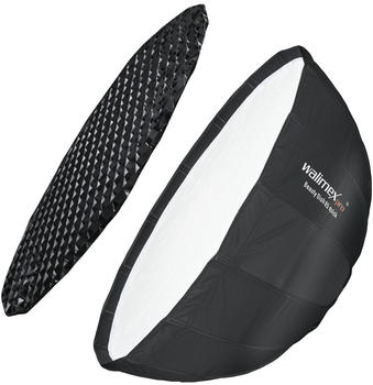Walimex pro Studio Line Beauty Dish Softbox QA85 mit Softboxadapter Broncolor