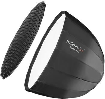 Walimex pro Studio Line Deep Rota Softbox QA70 mit Softboxadapter Elinchrom
