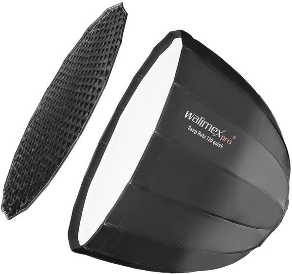 Walimex pro Studio Line Deep Rota Softbox QA120 ohne Softboxadapter