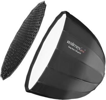 Walimex pro Studio Line Deep Rota Softbox QA120 mit Softboxadapter Multiblitz P
