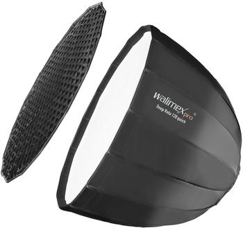 Walimex pro Studio Line Deep Rota Softbox QA120 mit Softboxadapter Aurora/Bowens