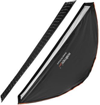 Walimex pro Studio Line Striplight Softbox QA 30x140cm mit Softboxadapter Broncolor