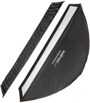 Walimex pro Studio Line Striplight Softbox QA 40x120cm mit Softboxadapter Multiblitz P