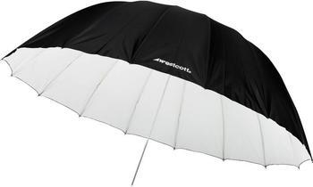 Westcott Parabolschirm weiß/schwarz 180 cm