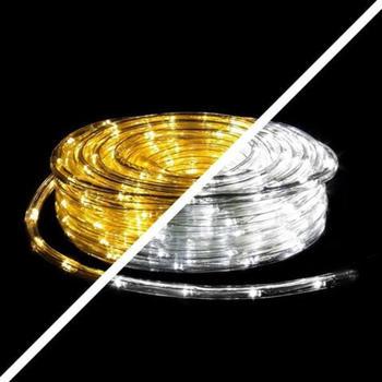 Pridea LED Lichterschlauch warmweiß + kaltweiß 20m