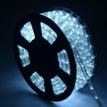 Costway LED Lichterschlauch Kaltweiss 10m
