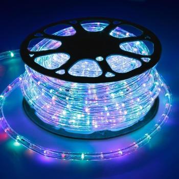 ECD Germany LED-Lichterschlauch 50m RGB