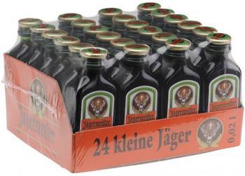Jägermeister 24 x 0,02l 35%
