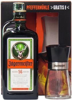 Jägermeister 0,7l 35% + Pfeffermühle