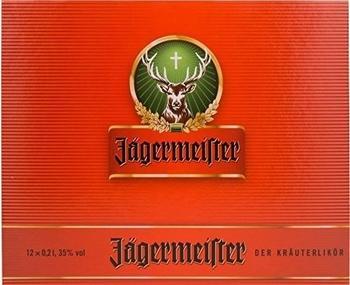 Jägermeister 12x0,2l 35%