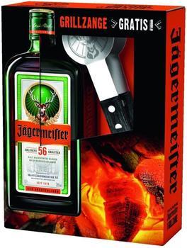 Jägermeister 0,7l 35% mit Grillzange