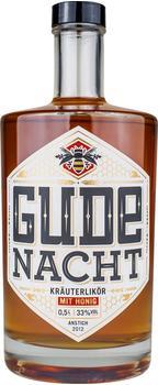 Gude Nacht Kräuterlikör mit Honig 0,5l 33%