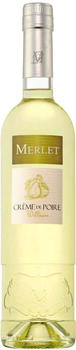 Merlet Crème de Poire Williams Likör 0,7l