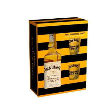 Jack Daniel´s Tennessee Honey Geschenkset 0,7l 35%