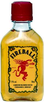 Fireball Cinnamon Whisky Mini 0,05l 33%