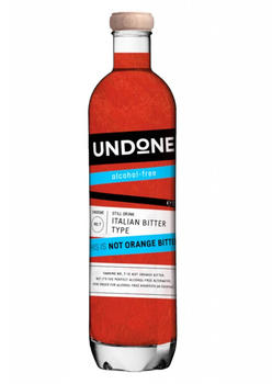 Undone No.7 'This is not Orange Bitter' Italian Bitter Type alkoholfrei 0,7l