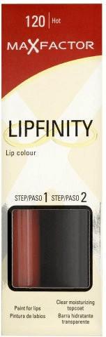 Max Factor Lipfinity - 120 Hot (2 ml)
