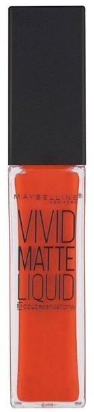Maybelline Vivid Matte Liquid 25 Orange Shot