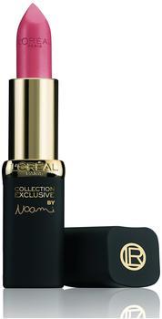 LOréal Paris LOreal Paris Color Riche Collection Exclusive, No21 Naomis Rosématter Lippenstift für einen eleganten, jungen Look, 1er Pack