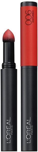 L'Oréal Indefectible Matt Lippen-Puder-Stift - 006 Disturbia (10ml)