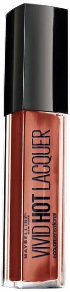 Maybelline Color Sensational Vivid Hot Lacquer Lipgloss 62 Charmer (7,7ml)