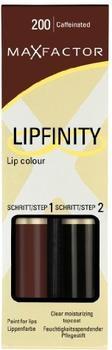 Max Factor Lipfinity - 200 Caffeinated (2 ml)