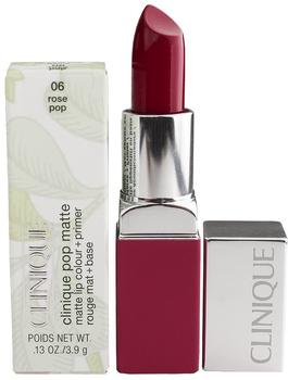 Clinique Pop Matte Lip Colour + Primer - 06 Rose Pop (3,9 g)