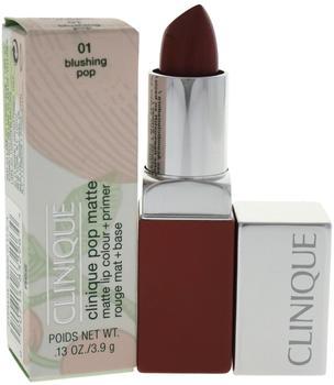 Clinique Pop Matte Lip Colour + Primer - 01 Blushing Pop (3,9 g)