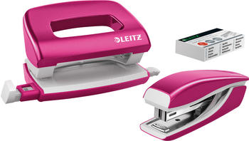 Leitz NeXXt WOW Locher-Tacker-MiniSet pink metallic (5561-20-23)