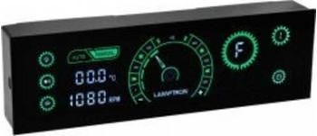 Lamptron CR430 schwarz/grün