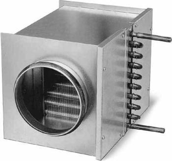 Helios Warmwasser-Heizregister WHR 125